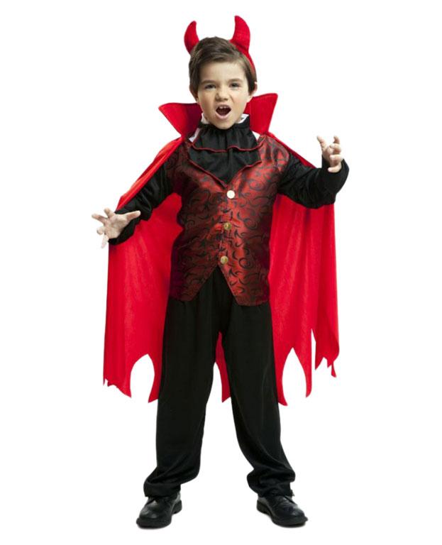 Diabeł z czerwoną peleryną