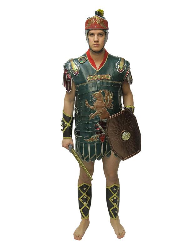 Żołnierz Rzymski zielony