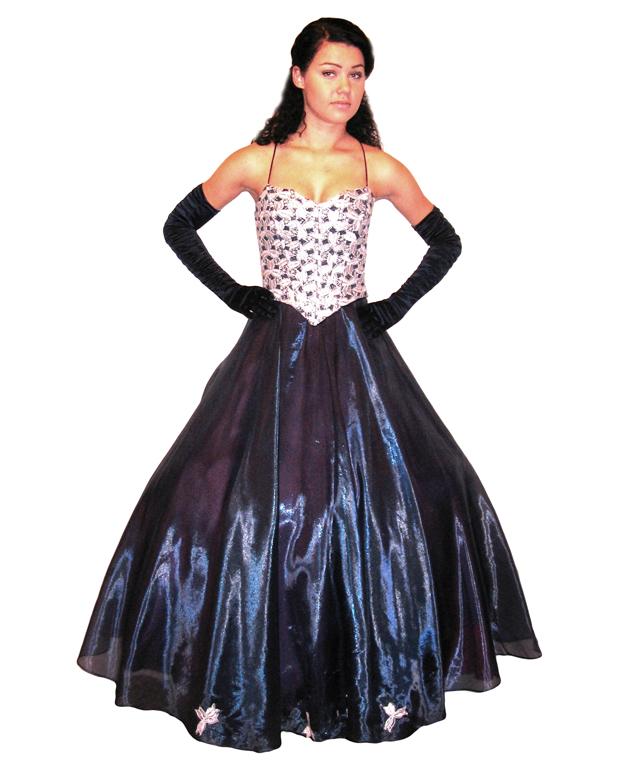 Suknia wieczorowa długa numer 2