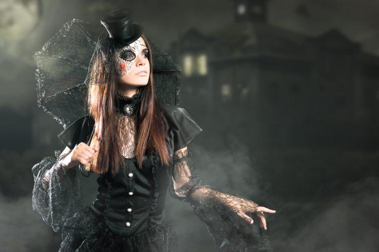 Kobieta- Halloween